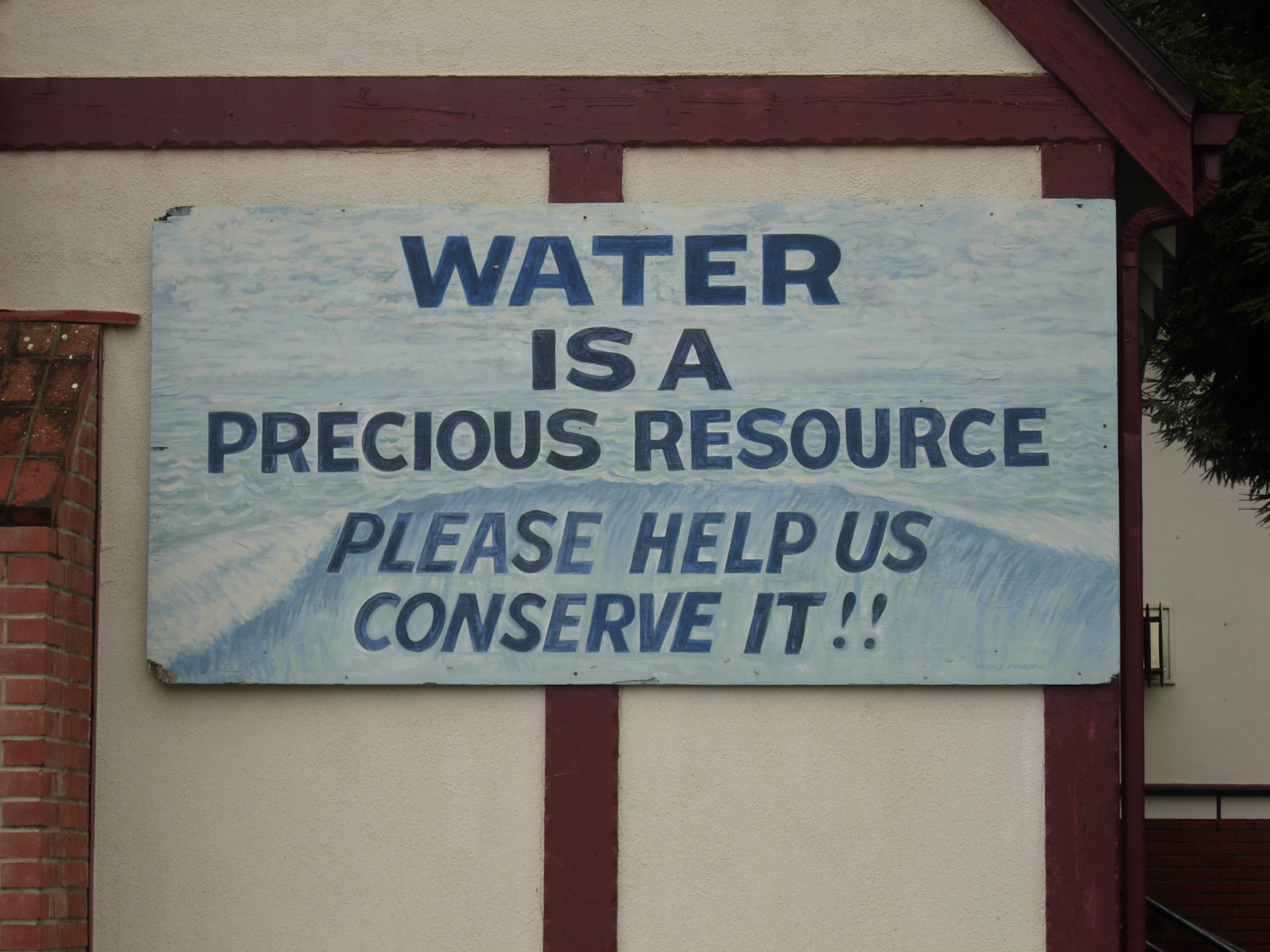 Water Signs – Private Water Law